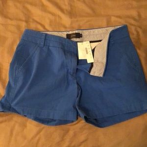 J. Crew blue shorts chino